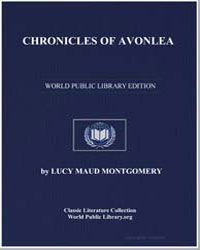 Chronicles of Avonlea by Montgomery, Lucy Maud