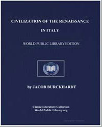 Civilization of the Renaissance in Italy by Burckhardt, Jacob