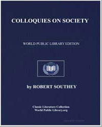 Colloquies on Society by Southey, Robert