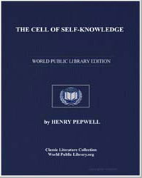 The Cell of Selfknowledge by Pepwell, Henry