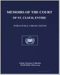 Memoirs of the Court of St. Cloud, Entir... by Goldsmith, Lewis
