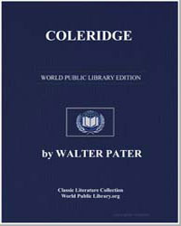 Coleridge by Pater, Walter Horatio