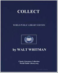 Collect by Whitman, Walt