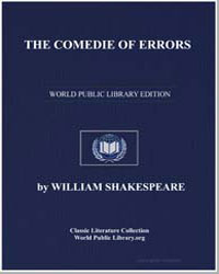 The Comedie of Errors by Shakespeare, William
