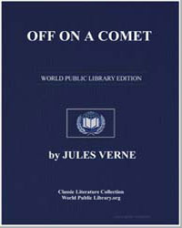 Off on a Comet by Verne, Jules