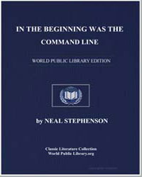 In the Beginning Was the Command Line by Stephenson, Neal