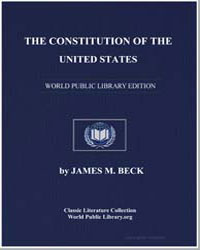 The Constitution of the United States by Beck, James Montgomery