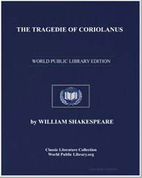 The Tragedy of Coriolanus by Shakespeare, William