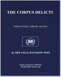 The Corpus Delicti by Post, Melville Davisson