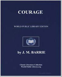 Courage by Barrie, James Matthew