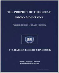 The Prophet of the Great Smoky Mountains by Craddock, Charles Egbert