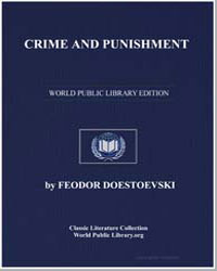Crime and Punishment by Doestoevski, Feodor