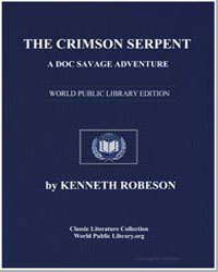 The Crimson Serpent by Robeson, Kenneth