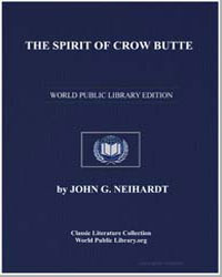 The Spirit of Crow Butte by Neihardt, John G.