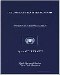 The Crime of Sylvestre Bonnard by France, Anatole