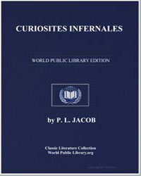Curiosites Infernales by Jacob, P. L.