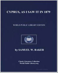 Cyprus, As I Saw It in 1879 by Baker, Samuel White, Sir