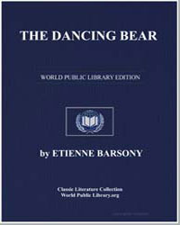 The Dancing Bear by Barsony, Étienne