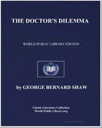 The Doctor's Dilemma by Shaw, George Bernard
