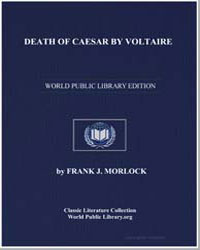 Death of Caesar by Voltaire