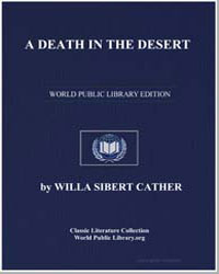 A Death in the Desert by Cather, Willa Sibert
