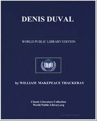 Denis Duval by Thackeray, William Makepeace