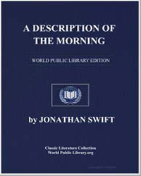 A Description of the Morning by Swift, Jonathan