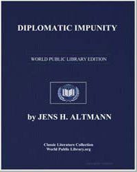 Diplomatic Impunity : A Midnight Sentine... by Altmann, Jens H.