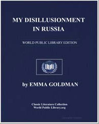My Disillusionment in Russia by Goldman, Emma