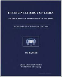 The Divine Liturgy of James, The Holy Ap... by Allen, James