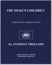 The Duke's Children by Trollope, Anthony