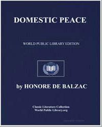 Domestic Peace by De Balzac, Honore