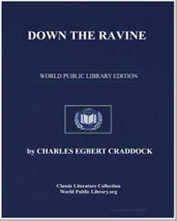 Down the Ravine by Craddock, Charles Egbert