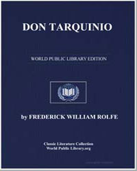 Don Tarquinio by Rolfe, Frederick William
