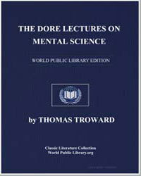 The Dore Lectures on Mental Science by Troward, Thomas