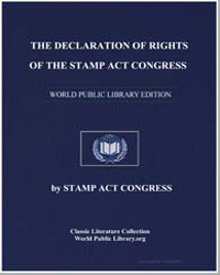 The Declaration of Rights of the Stamp A... by