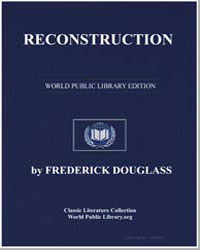 Reconstruction by Douglass, Frederick