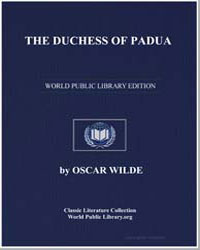 The Duchess of Padua by Wilde, Oscar