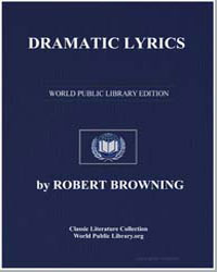 Dramatic Lyrics by Browning, Robert