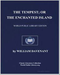 The Tempest; Or, The Enchanted Island by Davenant, William