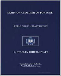 Diary of a Soldier of Fortune by Hyatt, Stanley Portal