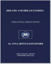 Dreams and Dream Stories by Kingsford, Anna Bonus, Mrs.