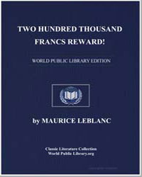 Two Hundred Thousand Francs Reward! by Leblanc, Maurice