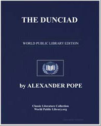 The Dunciad by Pope, Alexander