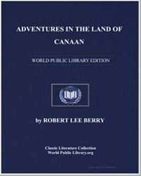 Adventures in the Land of Canaan by Lee Berry, Robert
