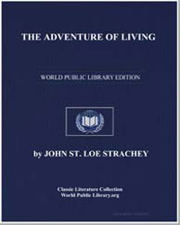 The Adventure of Living; A Subjective Au... by Loe Strache