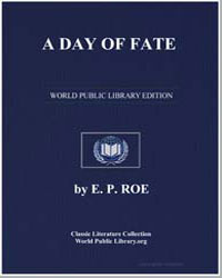 A Day of Fate by Roe, Edward Payson