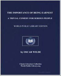 The Importance of Being Earnest : A Triv... by Wilde, Oscar