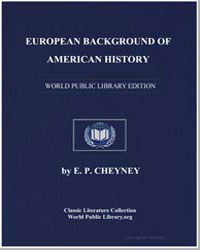 European Background of American History by Cheyney, E. P.