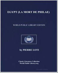 Egypt (La Mort de Philae) by Loti, Pierre